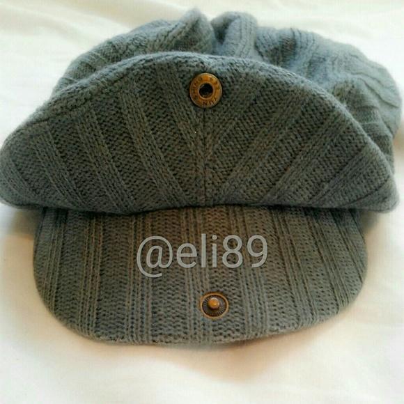 fb03a56e9d6 Cable Knit Page Boy Hat. M 5a4d4c2d00450f822b0297dc